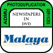 Newspapers in DVD - Malaya