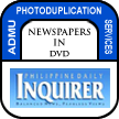 Newspapers in DVD - Philippine Daily Inquirer