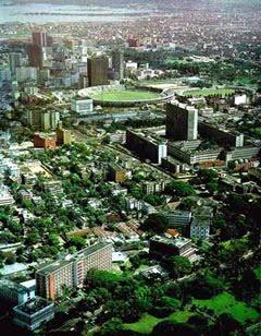 Dhaka City- a bird's eye view
