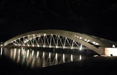 Bridge On Crescent Lake Dhaka