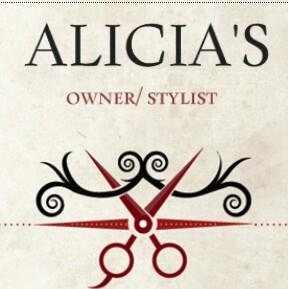 Alicia's Hair Salon logo