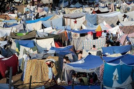Over 1 million Haitians still live in tent cities and last summer over 2500 people were killed in a preventable cholera epidemic. & Latin American Issues - Alison World Geo