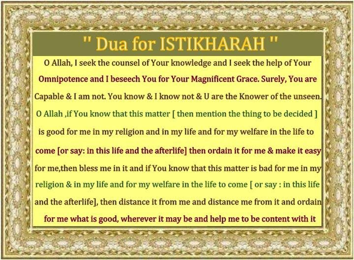 Prayers for istikhara islamic prayers authentic supplications computer if you want to save the dua altavistaventures Image collections