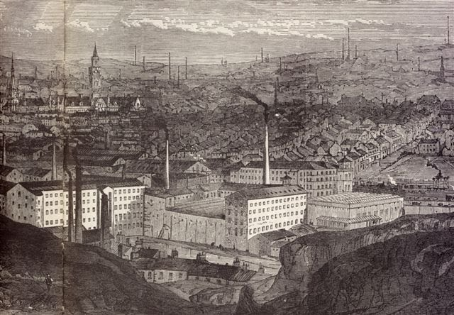 Living In Industrial Bradford Phil Robinson History And