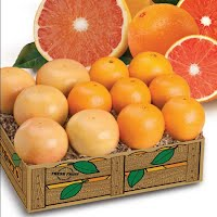 Red Navel oranges and Red grapefruit.