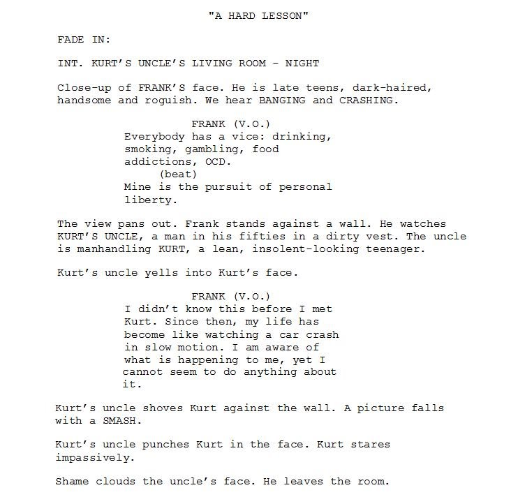 Format your screenplay for kindle - All About Writing Screenplays