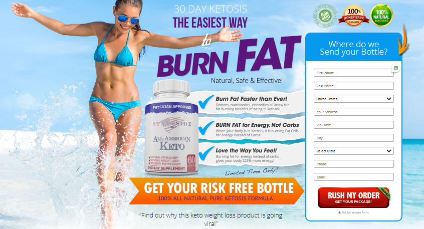 All American Keto : Get Your Exclusive Free Trial Pack Today ...