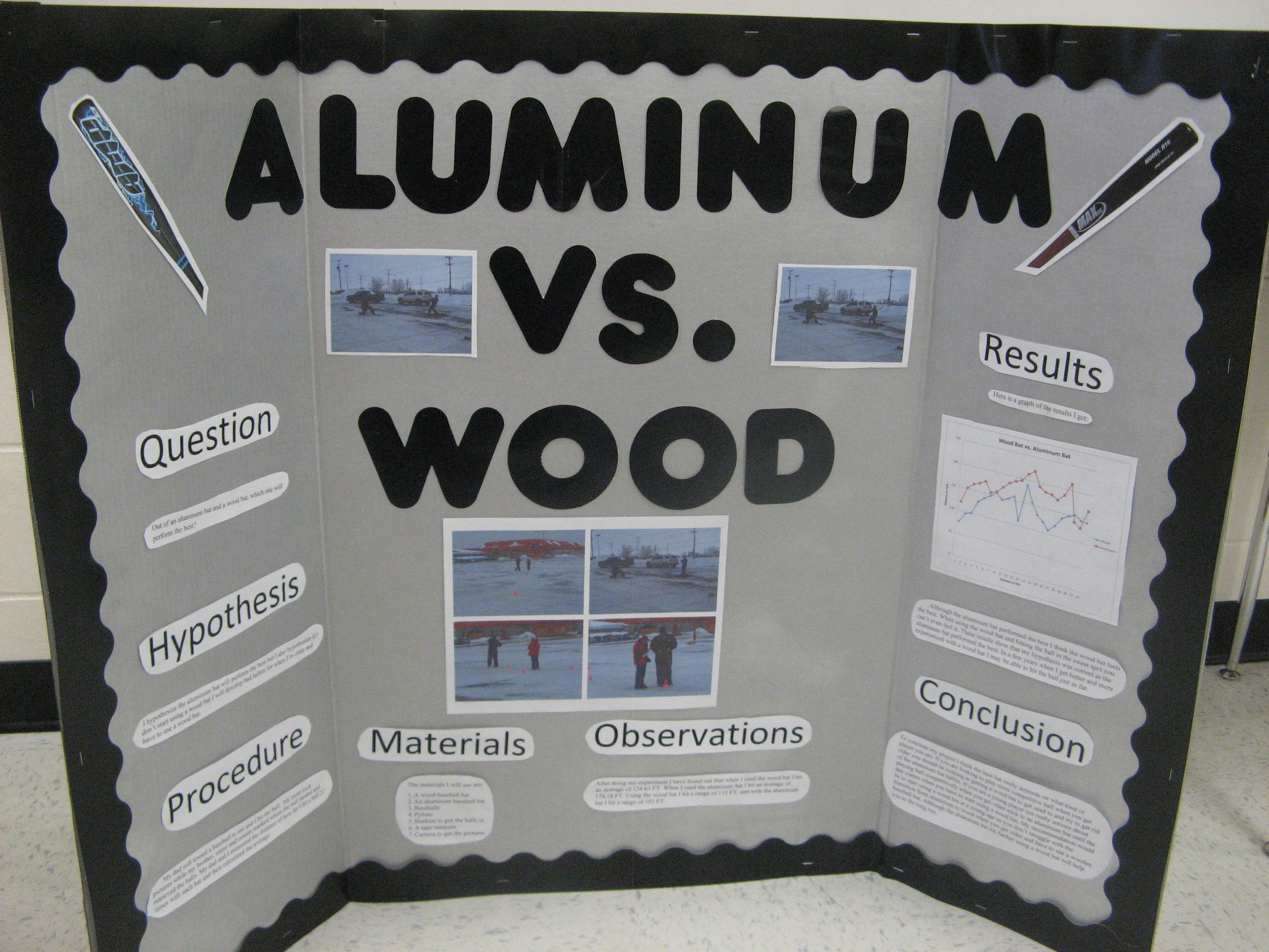 wood vs aluminum You own an aluminum boat, might as well have the tools get the experience of working with aluminum aluminum isn't that expensive if you buy it at a scrap/salvage yard.