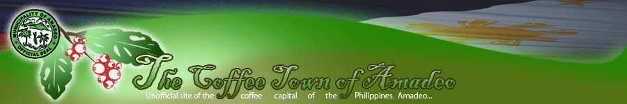 The Coffee Town Of Amadeo - Unofficial site of the coffee capital of the Philippines, Amadeo.