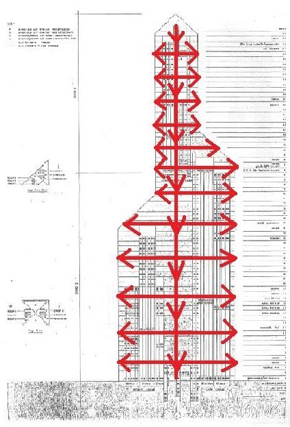 the following is a speculative drawing of a single-line diagram depicting  the typical cooling air flow for the hvac unit