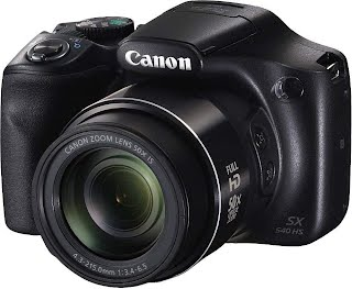 Canon PowerShot SX540HS 20.3MP Digital Camera with 50x Optical Zoom