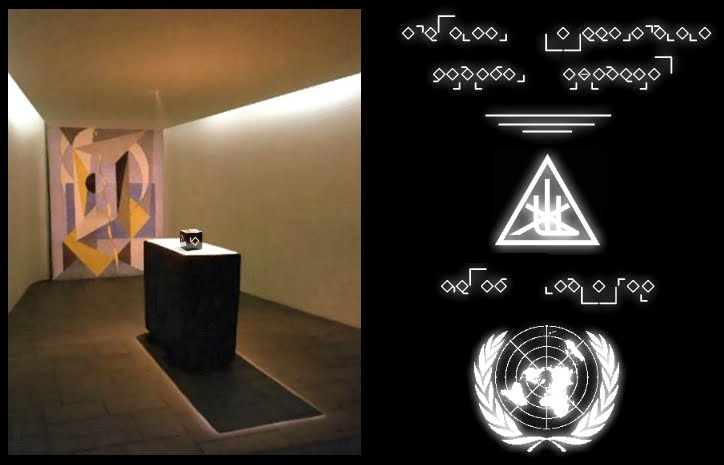 Jesus World Goodwill United Nations More Light The Amen Ashlar The United Nations Prayer Room