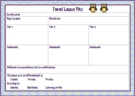 Tiered Lessons Amysgiftedresources