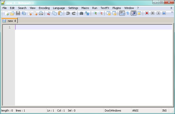 how to run a notepad++ file