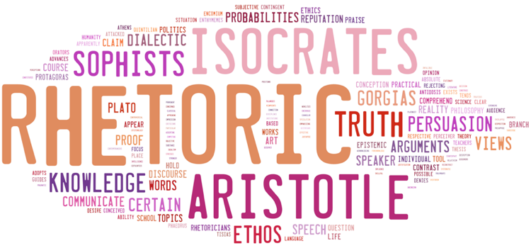 aristotle and plato rhetoric Start studying rhetoric 2 learn -aristotle is the arch between sophists and plato's view of rhetoric-at first aristotle adopted plato's ideas towards.