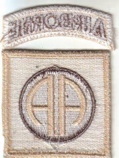 82nd Airborne Division 82ndABNBack