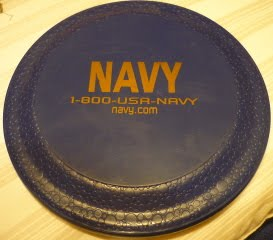 US Navy Recruitment Item - Frisbee P1000916