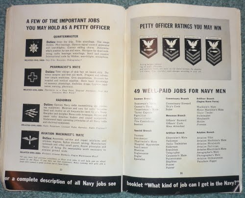 "WWII Recruitment Booklet ""Men Make The Navy...The Navy Makes Men"" P1000925"