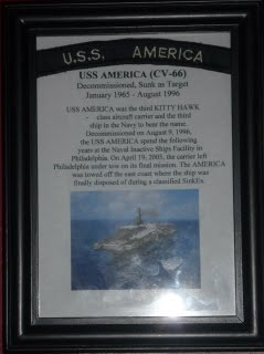 USS America Ship tab and story P1050059