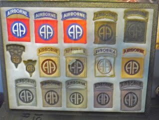 82nd Airborne Patch Display P1050807