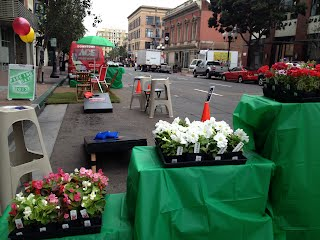 Park(ing) Day Ace San Diego