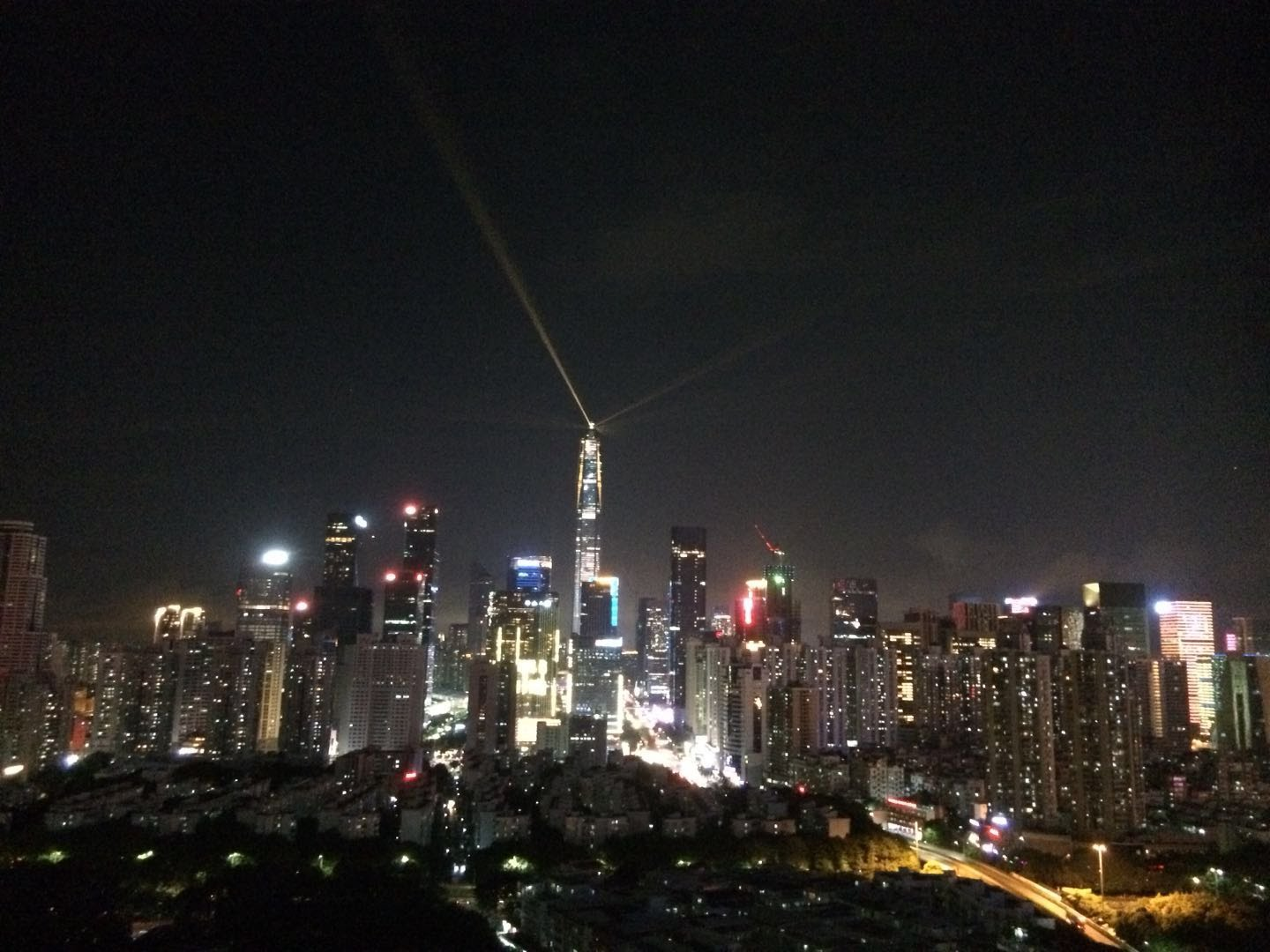 Shenzhen skyline at Night