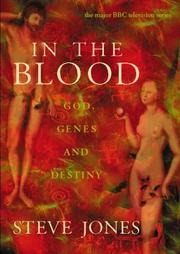Book cover for In the Blood by Steve Jones