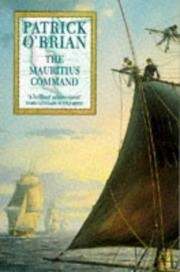 Book cover for The Mauritius Command by Patrick O'Brian