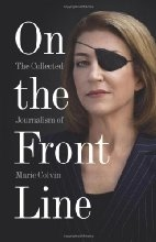 Book cover for On the Front Line by Marie Colvin