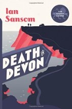 Book cover for Death in Devon by Ian Sansom