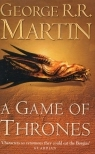 Book cover for A Game of Thrones by George R. R. Martin