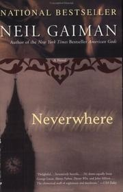 Book cover for Neverwhere by Neil Gaiman