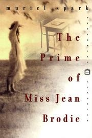Book cover for The Prime of Miss Jean Brodie by Muriel Spark