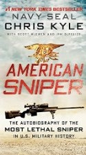 Book cover for American Sniper by Chris Kyle, Scott McEwen, Jim DeFelice