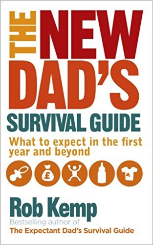 Book cover for The New Dad's Survival Guide by Rob Kemp