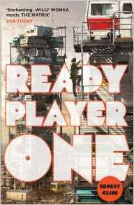 Book cover for Ready Player One by Ernst Cline