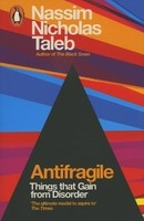 Book cover for Antifragile by Nassim Nicholas Taleb