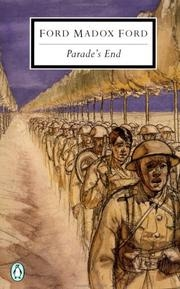 Book cover for Parade's End by Ford Madox Ford, Robie Macauley