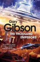 Book cover for Thousand Emperors by Gary Gibson