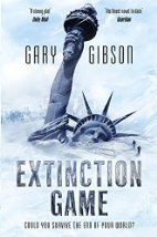 Book cover for Extinction Game by Gary Gibson
