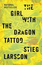 Book cover for The Girl with the Dragon Tattoo by Stieg Larsson