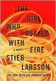 Book cover for The Girl Who Played with Fire by Stieg Larsson