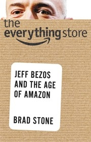 Book cover for The Everything Store by Brad Stone