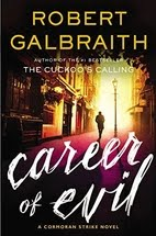 Book cover for Career of Evil by Robert Galbraith