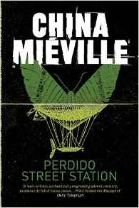Book cover for Perido Street Station by China Mieville