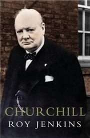Book cover for Churchill by Roy Jenkins