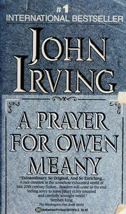 Book cover for A Prayer for Owen Meany by John Irving