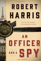 Book cover for An Officer and a Spy by Robert Harris