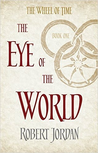 Book cover for The Eye of the World by Robert Jordan