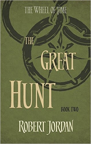 Book cover for The Great Hunt by Robert Jordan